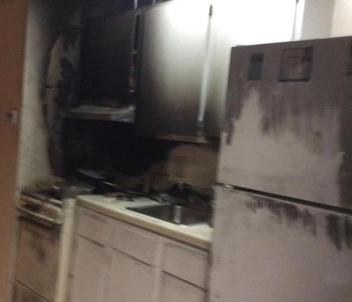 Large Kitchen Fire