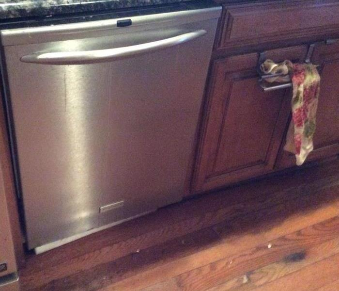 Water Damage From Dishwasher
