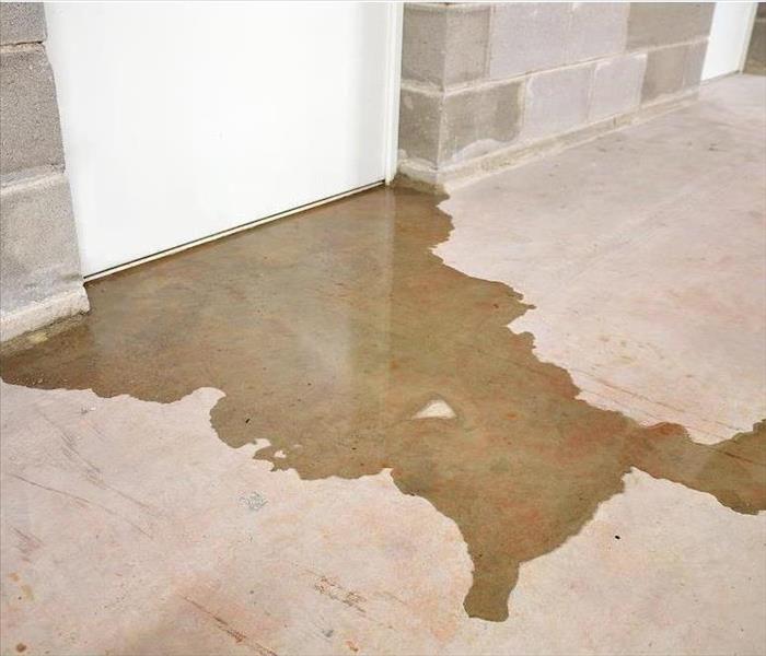 Why SERVPRO Contact SERVPRO When Flood Damage in Slidell Causes a Sewer Back-up