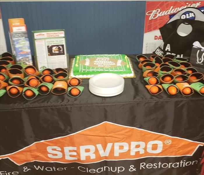 Storm Damage SERVPRO Follows Protocols for Treatment after Flooding in Slidell